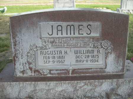 JAMES, WILLIAM A. - Dawes County, Nebraska | WILLIAM A. JAMES - Nebraska Gravestone Photos