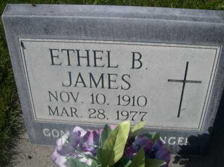 JAMES, ETHEL B. - Dawes County, Nebraska | ETHEL B. JAMES - Nebraska Gravestone Photos