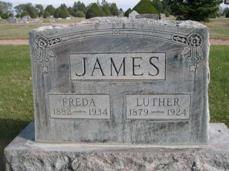 JAMES, FREDA - Dawes County, Nebraska | FREDA JAMES - Nebraska Gravestone Photos