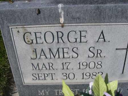 JAMES, GEORGE A. SR. - Dawes County, Nebraska | GEORGE A. SR. JAMES - Nebraska Gravestone Photos