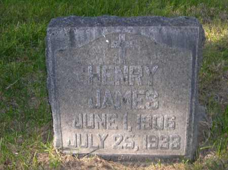 JAMES, HENRY - Dawes County, Nebraska | HENRY JAMES - Nebraska Gravestone Photos