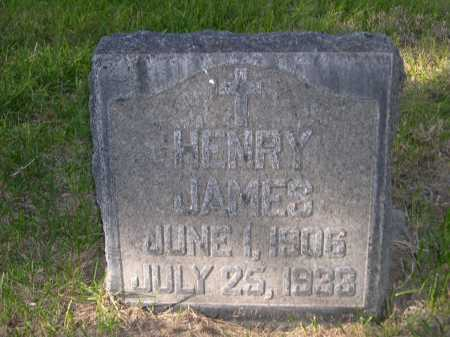 JAMES, HENRY - Dawes County, Nebraska | HENRY JAMES - Nebraska Gravestone Photos