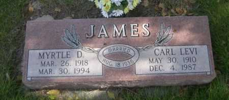 JAMES, CARL LEVI - Dawes County, Nebraska | CARL LEVI JAMES - Nebraska Gravestone Photos