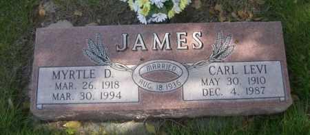 JAMES, CARL LEVI - Dawes County, Nebraska | CARL LEVI JAMES - Nebraska Gravestone Photos