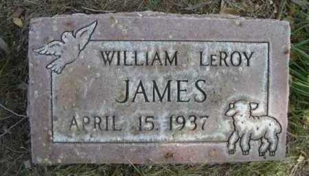 JAMES, WILLIAM LEROY - Dawes County, Nebraska   WILLIAM LEROY JAMES - Nebraska Gravestone Photos