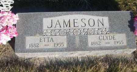 JAMESON, CLYDE - Dawes County, Nebraska | CLYDE JAMESON - Nebraska Gravestone Photos