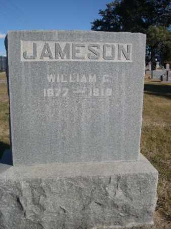 JAMESON, WILLIAM C. - Dawes County, Nebraska | WILLIAM C. JAMESON - Nebraska Gravestone Photos