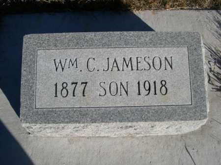 JAMESON, WM. C. - Dawes County, Nebraska   WM. C. JAMESON - Nebraska Gravestone Photos