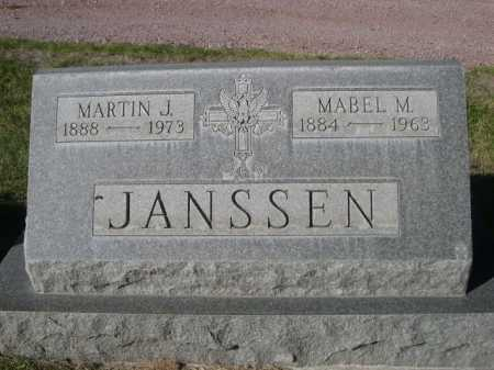 JANSSEN, MARTIN J. - Dawes County, Nebraska | MARTIN J. JANSSEN - Nebraska Gravestone Photos