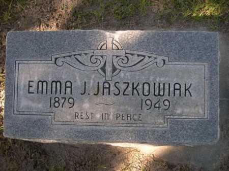 JASZKOWIAK, EMMA J. - Dawes County, Nebraska | EMMA J. JASZKOWIAK - Nebraska Gravestone Photos