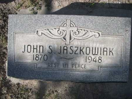JASZKOWIAK, JOHN S. - Dawes County, Nebraska | JOHN S. JASZKOWIAK - Nebraska Gravestone Photos