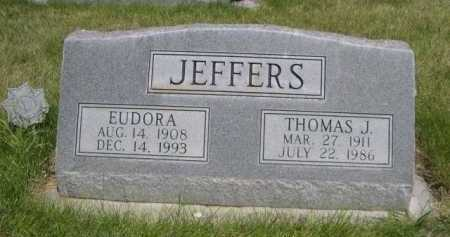 JEFFERS, EUDORA A. - Dawes County, Nebraska | EUDORA A. JEFFERS - Nebraska Gravestone Photos