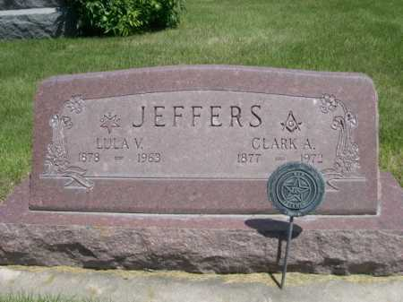 JEFFERS, LULA V. - Dawes County, Nebraska   LULA V. JEFFERS - Nebraska Gravestone Photos