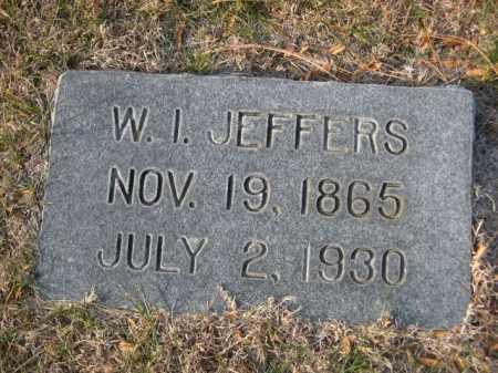 JEFFERS, W. I. - Dawes County, Nebraska | W. I. JEFFERS - Nebraska Gravestone Photos