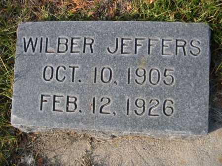 JEFFERS, WILBER - Dawes County, Nebraska | WILBER JEFFERS - Nebraska Gravestone Photos