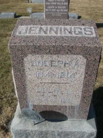 JENNINGS, JULIA A. - Dawes County, Nebraska | JULIA A. JENNINGS - Nebraska Gravestone Photos