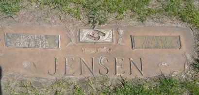 JENSEN, IRENE G. - Dawes County, Nebraska | IRENE G. JENSEN - Nebraska Gravestone Photos