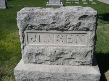 JENSEN, FAMILY - Dawes County, Nebraska | FAMILY JENSEN - Nebraska Gravestone Photos
