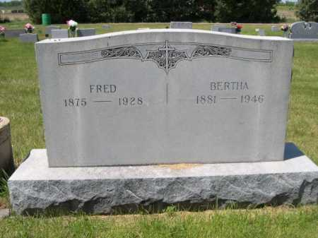JENSEN, BERTHA - Dawes County, Nebraska | BERTHA JENSEN - Nebraska Gravestone Photos