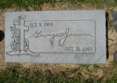 JENSEN, GEORGE A. - Dawes County, Nebraska | GEORGE A. JENSEN - Nebraska Gravestone Photos