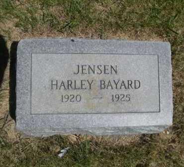 JENSEN, HARLEY BAYARD - Dawes County, Nebraska | HARLEY BAYARD JENSEN - Nebraska Gravestone Photos
