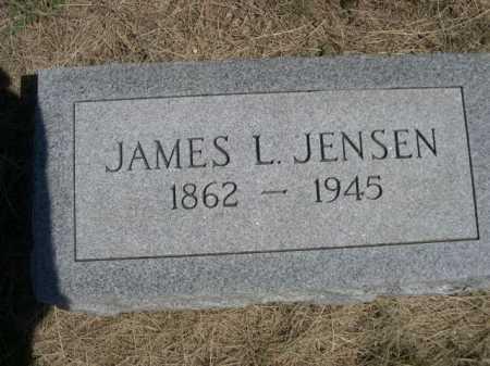 JENSEN, JAMES L. - Dawes County, Nebraska   JAMES L. JENSEN - Nebraska Gravestone Photos