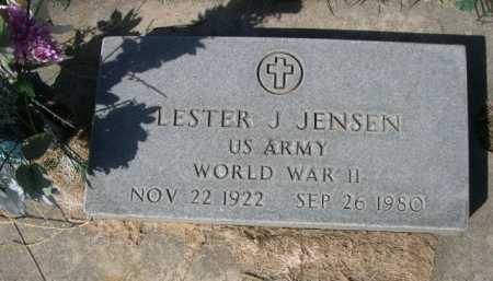 JENSEN, LESTER - Dawes County, Nebraska | LESTER JENSEN - Nebraska Gravestone Photos