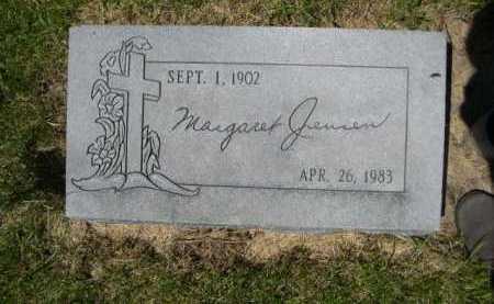 JENSEN, MARGARET - Dawes County, Nebraska   MARGARET JENSEN - Nebraska Gravestone Photos