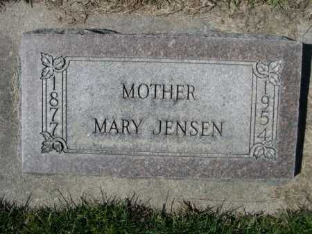 JENSEN, MARY - Dawes County, Nebraska | MARY JENSEN - Nebraska Gravestone Photos
