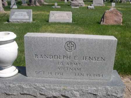 JENSEN, RANDOLPH C. - Dawes County, Nebraska | RANDOLPH C. JENSEN - Nebraska Gravestone Photos