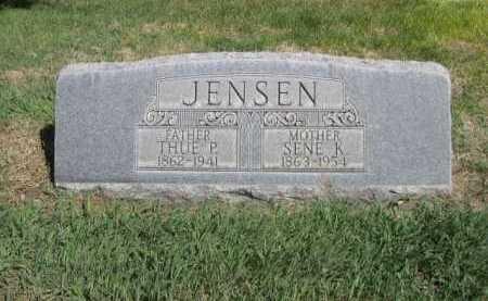 JENSEN, THUE P. - Dawes County, Nebraska | THUE P. JENSEN - Nebraska Gravestone Photos