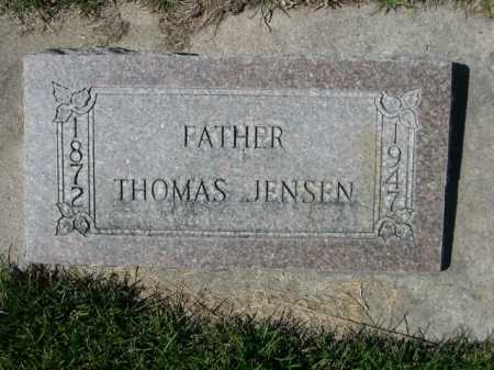 JENSEN, THOMAS - Dawes County, Nebraska | THOMAS JENSEN - Nebraska Gravestone Photos