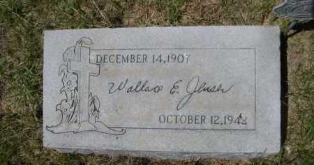 JENSEN, WALLACE E. - Dawes County, Nebraska | WALLACE E. JENSEN - Nebraska Gravestone Photos