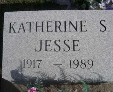 JESSE, KATHERINE S. - Dawes County, Nebraska | KATHERINE S. JESSE - Nebraska Gravestone Photos