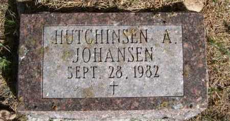JOHANSEN, HUTCHINSEN A. - Dawes County, Nebraska | HUTCHINSEN A. JOHANSEN - Nebraska Gravestone Photos