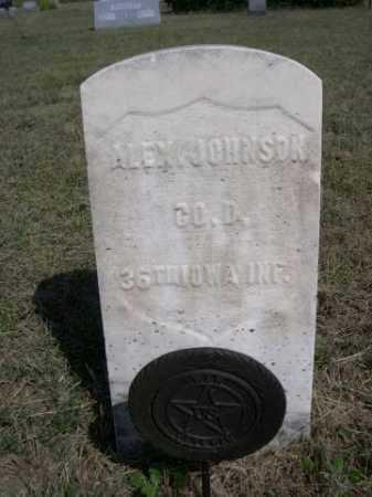 JOHNSON, ALEX - Dawes County, Nebraska | ALEX JOHNSON - Nebraska Gravestone Photos