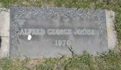 JOHNSON, ALFRED GEORGE - Dawes County, Nebraska | ALFRED GEORGE JOHNSON - Nebraska Gravestone Photos