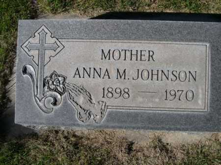 JOHNSON, ANNA M. - Dawes County, Nebraska | ANNA M. JOHNSON - Nebraska Gravestone Photos