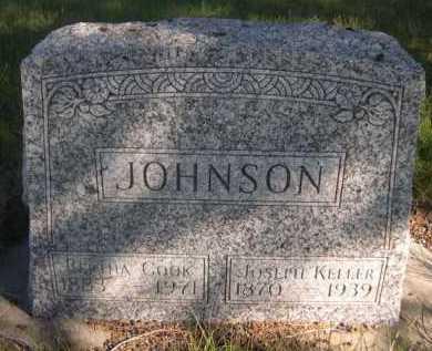 COOK JOHNSON, BERTHA - Dawes County, Nebraska | BERTHA COOK JOHNSON - Nebraska Gravestone Photos