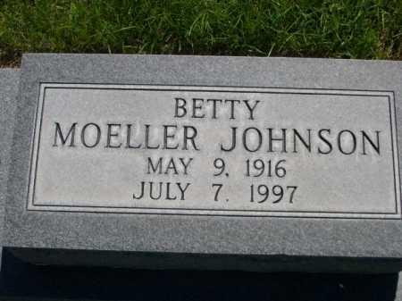 MOELLER JOHNSON, BETTY - Dawes County, Nebraska | BETTY MOELLER JOHNSON - Nebraska Gravestone Photos