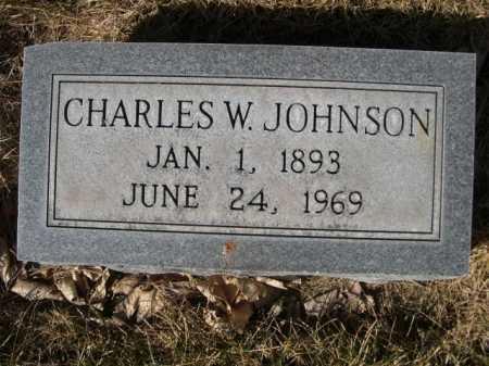 JOHNSON, CHARLES W. - Dawes County, Nebraska | CHARLES W. JOHNSON - Nebraska Gravestone Photos