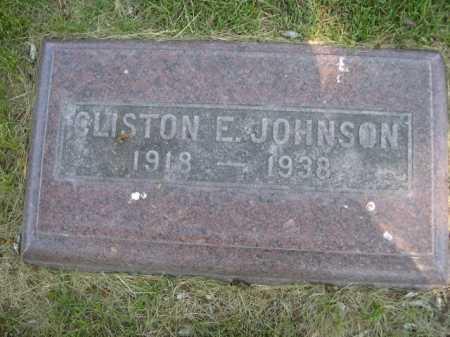 JOHNSON, CLISTON E. - Dawes County, Nebraska | CLISTON E. JOHNSON - Nebraska Gravestone Photos