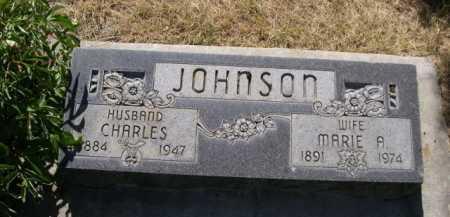 JOHNSON, MARIE A. - Dawes County, Nebraska   MARIE A. JOHNSON - Nebraska Gravestone Photos