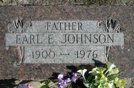 JOHNSON, EARL E. - Dawes County, Nebraska | EARL E. JOHNSON - Nebraska Gravestone Photos