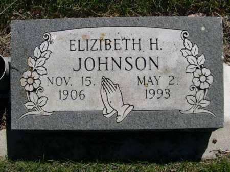 JOHNSON, ELIZABETH H. - Dawes County, Nebraska   ELIZABETH H. JOHNSON - Nebraska Gravestone Photos