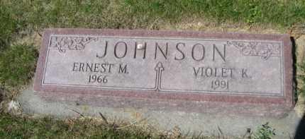 JOHNSON, VIOLET K. - Dawes County, Nebraska | VIOLET K. JOHNSON - Nebraska Gravestone Photos