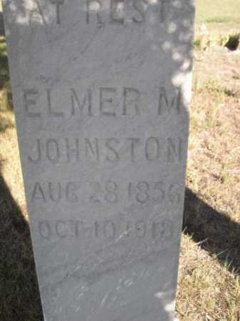 JOHNSTON, ELMER M. - Dawes County, Nebraska | ELMER M. JOHNSTON - Nebraska Gravestone Photos
