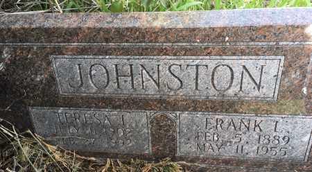 JOHNSTON, TERESA I. - Dawes County, Nebraska | TERESA I. JOHNSTON - Nebraska Gravestone Photos