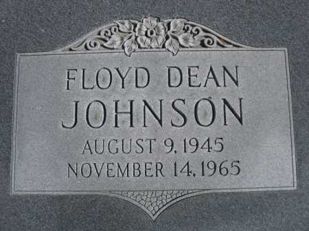 JOHNSON, FLOYD DEAN - Dawes County, Nebraska | FLOYD DEAN JOHNSON - Nebraska Gravestone Photos