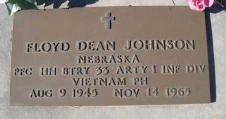 JOHNSON, FLOYD DEAN - Dawes County, Nebraska | FLOYD DEAN JOHNSON - Nebraska Gravestone Photos